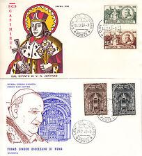 Città Del Vaticano 1959 -1960 5° Cent.Nascita di S. Casimiro- 1° Sinodo Dioces.