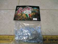 Classic Toy Soldiers 1/32 54mm Plastic Army Men Playset Alamo Lgt Blue Riding US