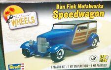 """REVELL DAN FINK'S METALWORKS """"SPEEDWAGON"""" PLASTIC KIT SEALED 1/25 SKILL LEVEL 3"""