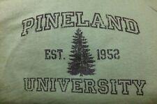 T-shirt Green w/ Pineland University on Front Robin Sage PRF ROP NEW Large