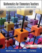 Mathematics for Elementary Teachers : A Conceptual Approach by Ted Nelson,...