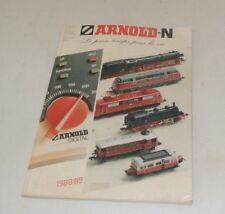 catalogue ARNOLD 1988/89  ( train electrique N  )