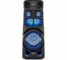 More details for sony mhc-v83d bluetooth megasound party speaker - black - currys