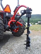 "3 Point Hitch Tractor Attachment - Speeco Model 65 with 9"" Auger Bit - Ship $199"