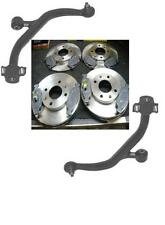 PEUGEOT 106 GTI 16v RALLYE 2 LOWER WISHBONE ARMS BRAKE DISC & PADS