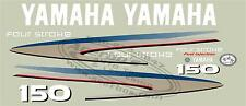 Yamaha Outboard Motor Decal Kit 150 HP 4 Stroke Kit, (+ Avail. in 115 and 225)