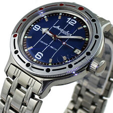 Vostok Amphibian scuba diving, Russian watches amfibia #420331 NEW 200m