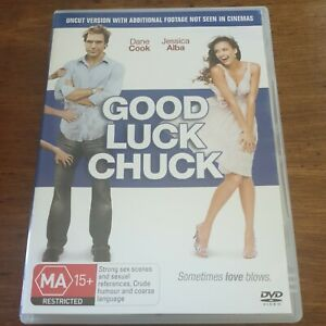 Good Luck Chuck DVD R4 Like New! FREE POST