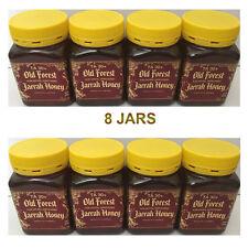 8 Jars - Old Forrest Jarrah Honey Pure Unprocessed Total Activity Ta30 500g