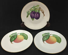 Fruit Plates by Heinrich & Co decroative Salad Plates (set 3) - Bavarian China