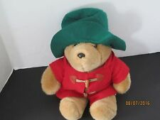 "Vintage 15"" Paddington Bear Plush Doll Figure Toy Uk Kids Animated Series j179"