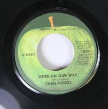 Rock 45 Chris Hodge - We'Re On Our Way / Supersoul On Apple Records
