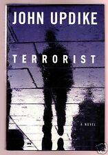 TERRORIST- JOHN UPDIKE SIGNED NOVEL 1ST - VERY GOOD CONDITION