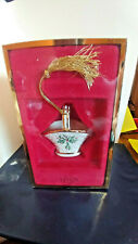 Lenox Holiday Basket Christmas Holly Ornament in Box