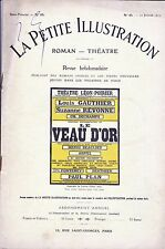 Revue LE VEAU D'OR Lucien Gleize 1914 Louis Gauthier Suzanne Révonne