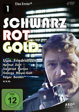 4 DVDs * SCHWARZ ROT GOLD 1 - FOLGE 01-06 # NEU OVP  ^