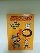 Whizzer And Chips Annual -  Vintage U.K Comic Hardback - 1972 (a5)