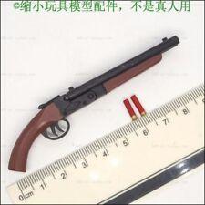 1:6 Scale Action Figure Accessory double tube shotguns Gun Model Toy