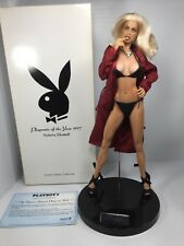 "16"" Tall Playboy Playmate Of The Year Limited Edition Collectors Doll +Box"