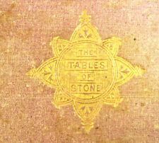 The Tables of Stone Very Old Antique Book Ten Commandments Richard Newton