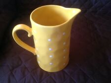 """""""Large"""" Maxwell and Williams Springle Jug Pitcher """"Yellow"""""""