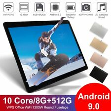 10.1 inch WiFi Tablet Android 9.0 Pad 8+512GB 10 Core Tablet GPS Dual Camera 20