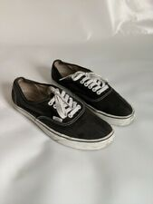 VANS ORIGINAL SKATE LO BLACK LACE- UP SNEAKER SIZE EU41 UK7.5