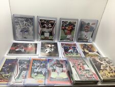 Falcons 65 Card Lot, Julio Jones Rookie, Hurst Auto, Inserts, Mem, Prizm