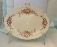 Vintage Edwin Knowles China Platter 44-8 SEMI VITREOUS- 1940's