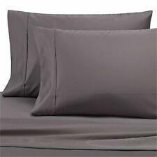 Wamsutta 620 Thread Count 100/% Egyptian Cotton King Pillowcases in Charcoal Set of 2
