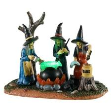 Lemax Spooky Town # 04709 Teamwork (Witches Cauldron) Lighted table accent