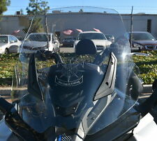 "CAN AM SPYDER F3, F3-S 25"" TALL, CLEAR REPLACEMENT WINDSHIELD"