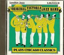 THE ORIGINAL VICTORIA JAZZ BAND - PLAYS CHICAGO CLASSICS - CD - NEW