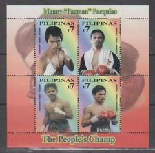 Philippine Stamps 2008 Manny Pacquiao Stamps MNH Complete.