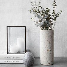 House Doctor Vase Vulkan weiß Blumenvase vintage Deko skandi interior design