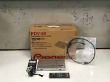Pioneer PDV-20 DVD Player - Multi Region complete with all accessories