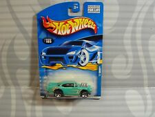 2000 HOT WHEELS   collector #105 = `57 CHEVY = TURQOISE  5dot  ,  1911