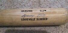 Manny Trillo Game Used Baseball Bat Chicago Cubs Cracked Louisville Slugger #19