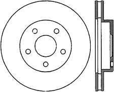 Disc Brake Rotor-Sport Drilled/Slotted Disc Front Right Stoptech 127.62023R