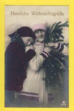 Carte Postale German Postcards FANTASY HERZLICHE WEIHNACHTSGRÜSSE Noël Christmas