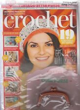 Inside Crochet Issue 111 Vintage-Style Purse includes clasp NEW