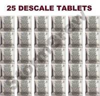 25 DESCALING DESCALER TABLETS FOR LAVAZZA, SENSEO JURA, NESPRESSO COFFEE MACHINE