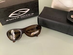 Smith Guides choice polarised tortoiseshell sunglasses brown lens fishing
