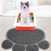 30*40cm Cats Litter Trapping Mats PVC Elastic Fiber Pads for Cats Litter Boxes