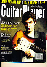Guitar Player February 2004 John Mayer McLaughlin Ween Parker Fly Hiwatt Ibanez