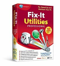 Fix-It Utilities 12 Professional PC DISC AND LICENSE KEY ONLY NO BOX NO MANUAL