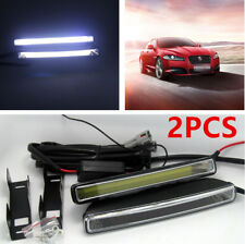 2Pcs Unique 20W COB 6000K Xenon White LED Light DRL Car Driving Fog Lamp Bright