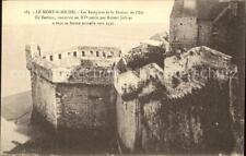 11656936 Mont-Saint-Michel Les Walkway et Bastion de l' Est XVE Siecle pontorson
