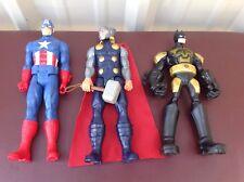 """Marvel 2013 Captain America  / Thor 2013 DC Comics Batman Action Figures  11"""""""