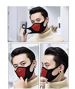 KIDS Face mask reusable washable mouth cotton double layer virus non medical